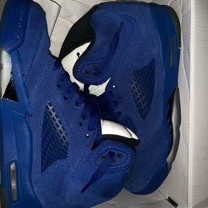 Royal Blue Jordan 5s